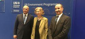 الشرجبي يلتقي وكيلة الأمين العام للأمم المتحدة لشؤون البيئة