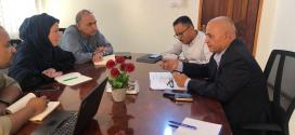 الشرجبي يناقش مع منسقة كتلة المياه في اليمن البرامج المشتركة للعام 2020 م