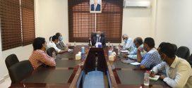 """الوزير الشرجبي يطلع على مشاريع منظمة """"الفاو"""" في مجال المياه"""
