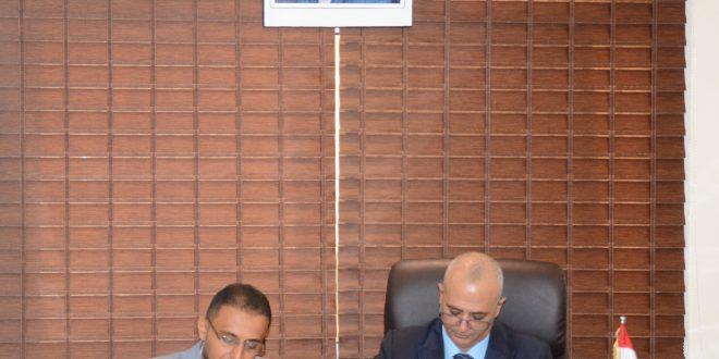 الوزير الشرجبي يوقع على اتفاقية لتعزيز احتياج محافظتي عدن ولحج من المياه