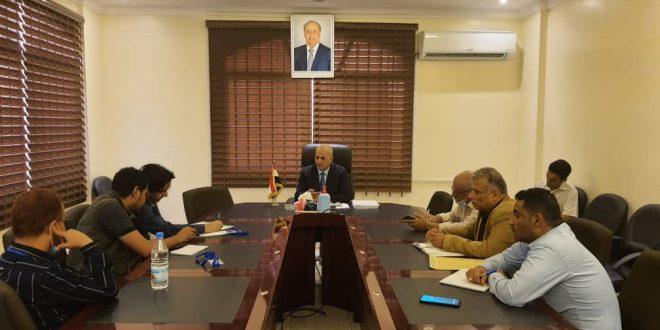 الوزير الشرجبي يبحث مع اوكسفام تنفيذ مشروع بناء قدرات المتضررين والمؤسسات من الأزمات
